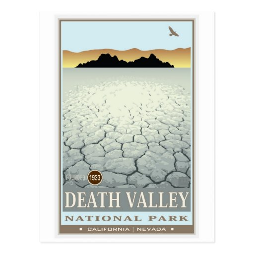 Death Valley National Park 3 Post Card