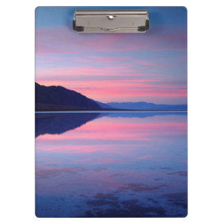 Death Valley National Park. Badwater at dawn Clipboard