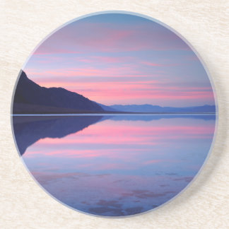 Death Valley National Park. Badwater at dawn Coaster