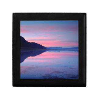 Death Valley National Park. Badwater at dawn Gift Box