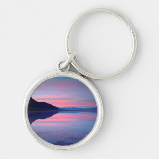 Death Valley National Park. Badwater at dawn Key Ring