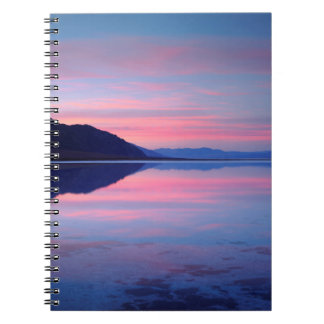 Death Valley National Park. Badwater at dawn Notebooks