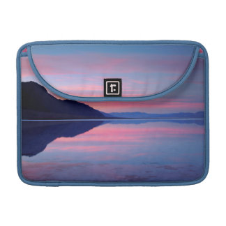 Death Valley National Park. Badwater at dawn Sleeve For MacBooks