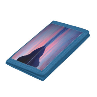 Death Valley National Park. Badwater at dawn Tri-fold Wallet