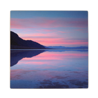 Death Valley National Park. Badwater at dawn Wood Coaster