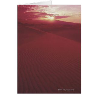 Death Valley National Park , California Card