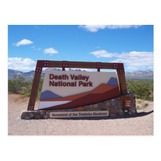 Death Valley National Park Postcard