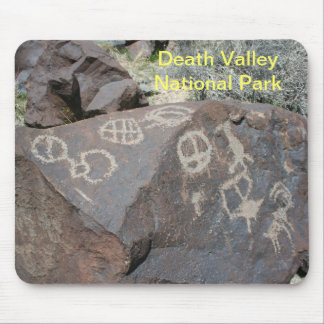 Death Valley Petroglyphs Mousepad