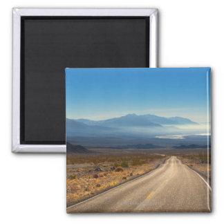 Death Valley road 3 California USA Fridge Magnet