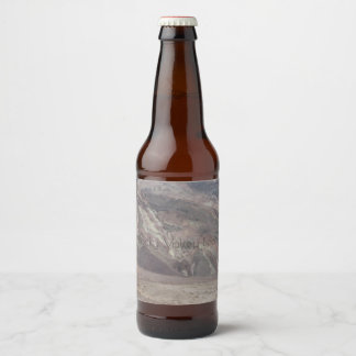 Death Valley Rocks Custom Label