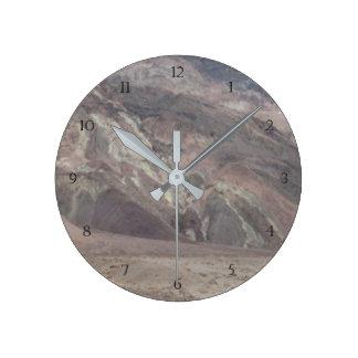 Death Valley Rocks Round Clock