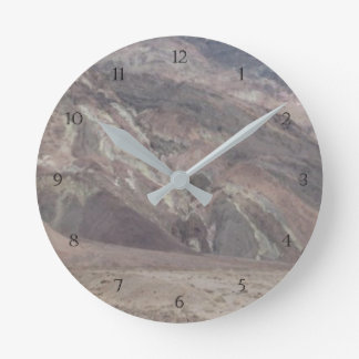 Death Valley Rocks Wall Clock