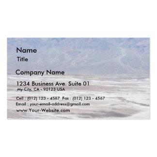 Death Valley Salt Desert Mountains Dante S View Sn Pack Of Standard Business Cards