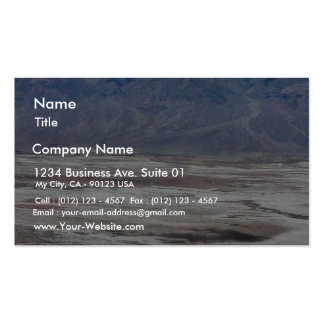 Death Valley Salt Desert Mountains Dante S View Sn Pack Of Standard Business Cards