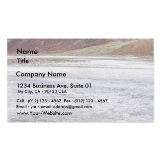Death Valley Salt Pack Of Standard Business Cards