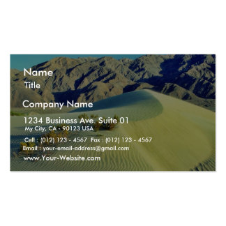 Death Valley Sand Dunes Pack Of Standard Business Cards
