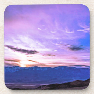 Death Valley Sunset Drink Coaster