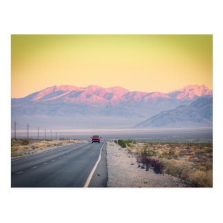 Death Valley Sunset Postcard