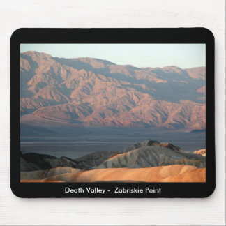 Death Valley -  Zabriskie Point Mouse Mat