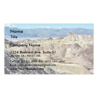 Death Valley Zabriskie Point Sand Desert 3 Pack Of Standard Business Cards