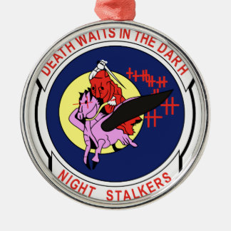 Death waits in the Darh Night Stalkers Christmas Ornament