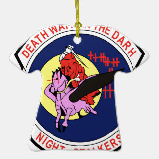 Death waits in the Darh Night Stalkers Ornaments
