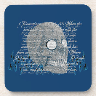 Death, where is your Sting? 1 Cor 15:54-56 Coaster