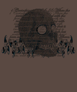 Death, where is your Sting? 1 Cor 15:54-56 Tshirt