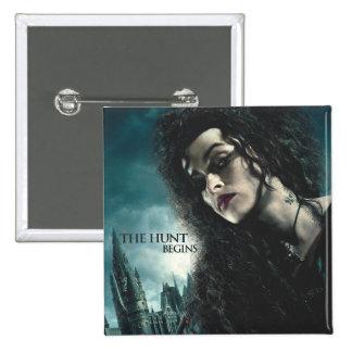 Deathly Hallows - Bellatrix Lestrange 2 15 Cm Square Badge