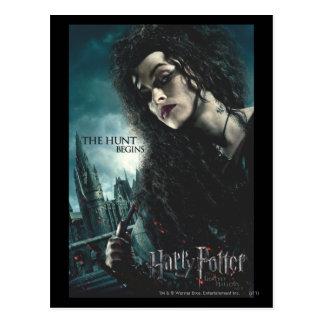 Deathly Hallows - Bellatrix Lestrange 2 Post Cards