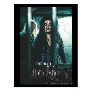 Deathly Hallows - Bellatrix & Lucius Postcard
