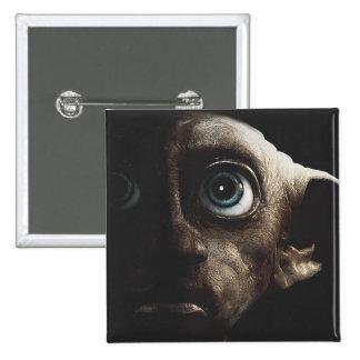 Deathly Hallows - Dobby 15 Cm Square Badge