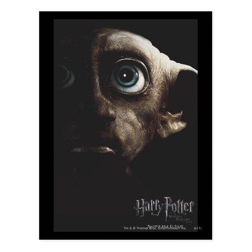 Deathly Hallows - Dobby Post Cards