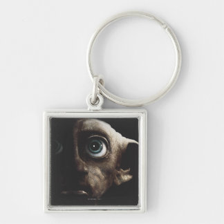 Deathly Hallows - Dobby Silver-Colored Square Key Ring