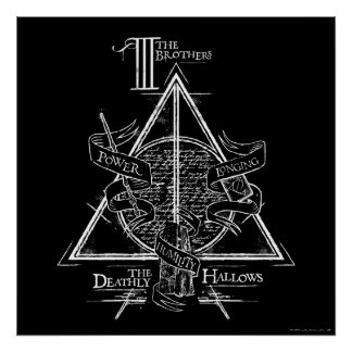 DEATHLY HALLOWS™ Graphic Poster
