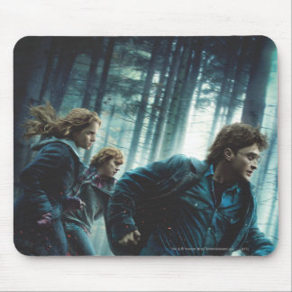 Deathly Hallows - Group Running 2 Mousepad