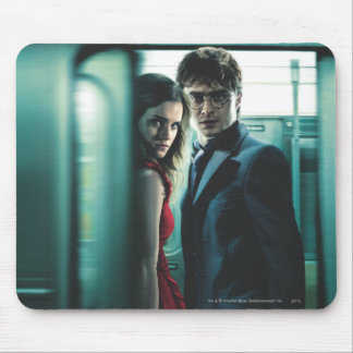 Deathly Hallows - Harry and Hermione Mouse Pads