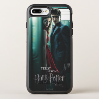 Deathly Hallows - Harry and Hermione OtterBox Symmetry iPhone 7 Plus Case
