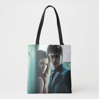 Deathly Hallows - Harry and Hermione Tote Bag