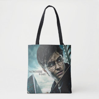 Deathly Hallows - Harry Tote Bag