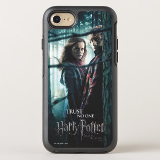 Deathly Hallows - Hermione and Ron OtterBox Symmetry iPhone 8/7 Case