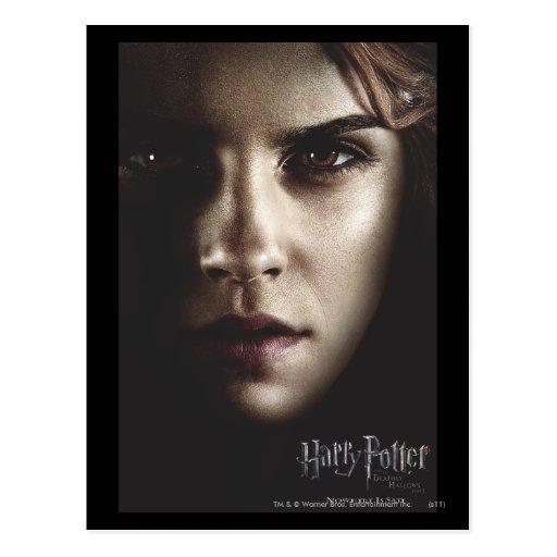 Deathly Hallows - Hermione Postcard