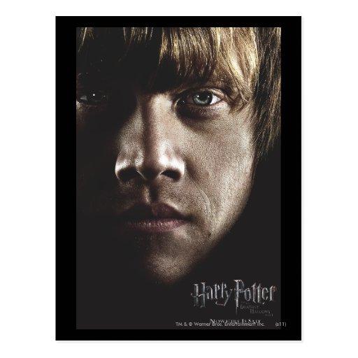 Deathly Hallows - Ron Postcard