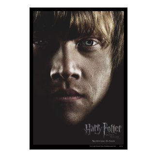 Deathly Hallows - Ron Poster