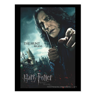 Deathly Hallows - Snape 2 Postcard