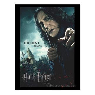 Deathly Hallows - Snape 2 Postcard