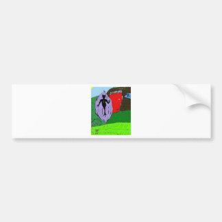 Deathman Mindscape RPG Bumper Sticker