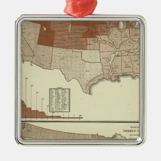 Deaths, diphtheria, digestive system christmas ornament