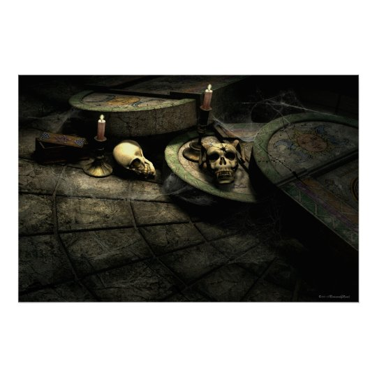 Deaths Domain Gothic Art Poster