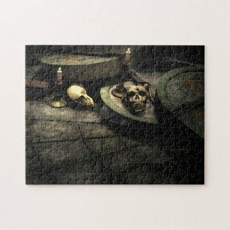Deaths Domain Gothic Art Puzzle